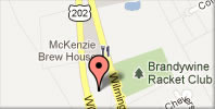 Google Map Directions to Brandywine Racquet Club
